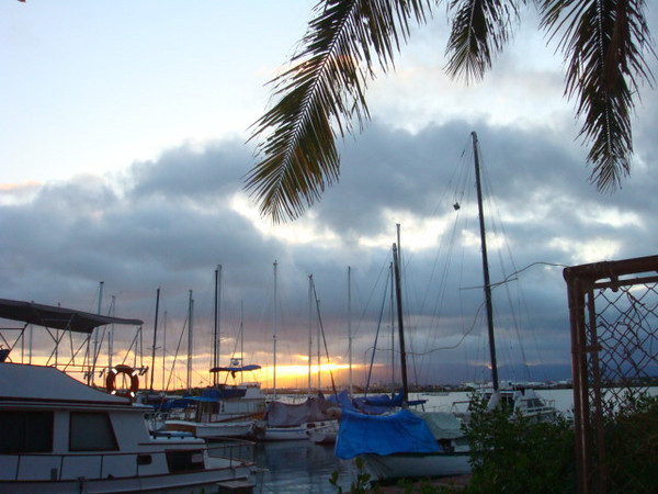 nice sunset..