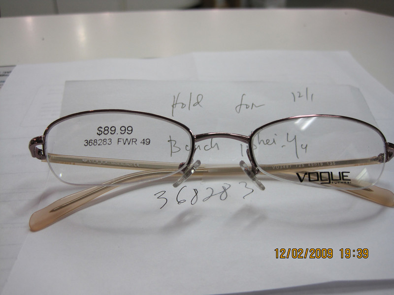 I am getting this new glasses.. needs to spend $$ to get $$... those medical flex plan thing..