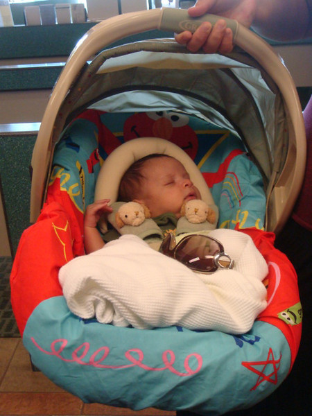 11/5/09  former HFCU employee - Rona's baby boy Leland - 2 mos old.