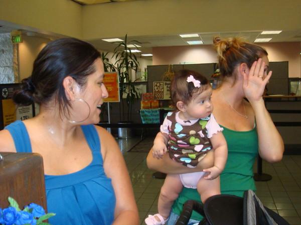 11/06/09 Friday.. Erika brought Gulianna.  and her neighbor Brittany was holding Gulianna