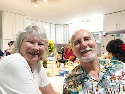 021618 from Becky's camera:  Kathy & Richard