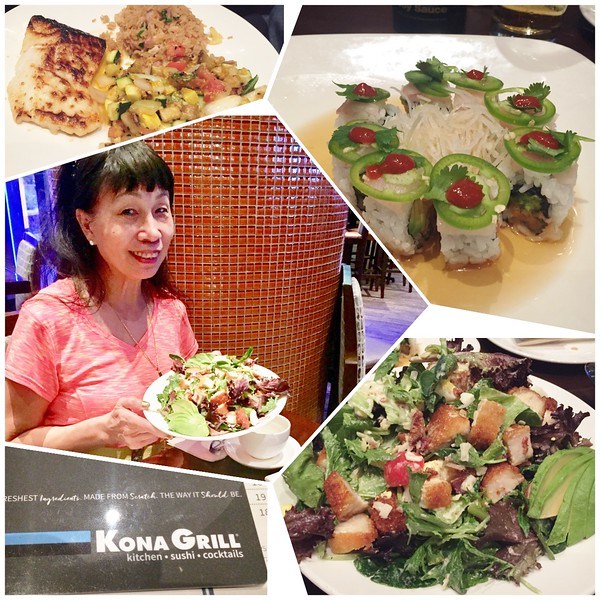 042818 late dinner at Kona Grill