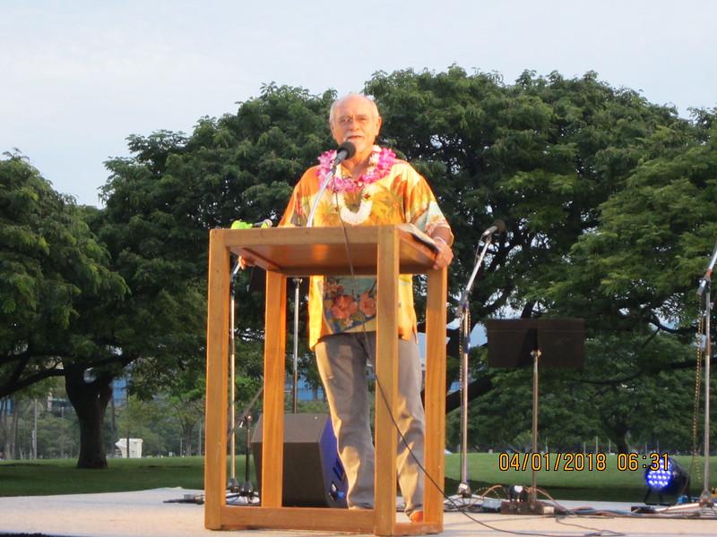 Pastor Bill Stonebraker