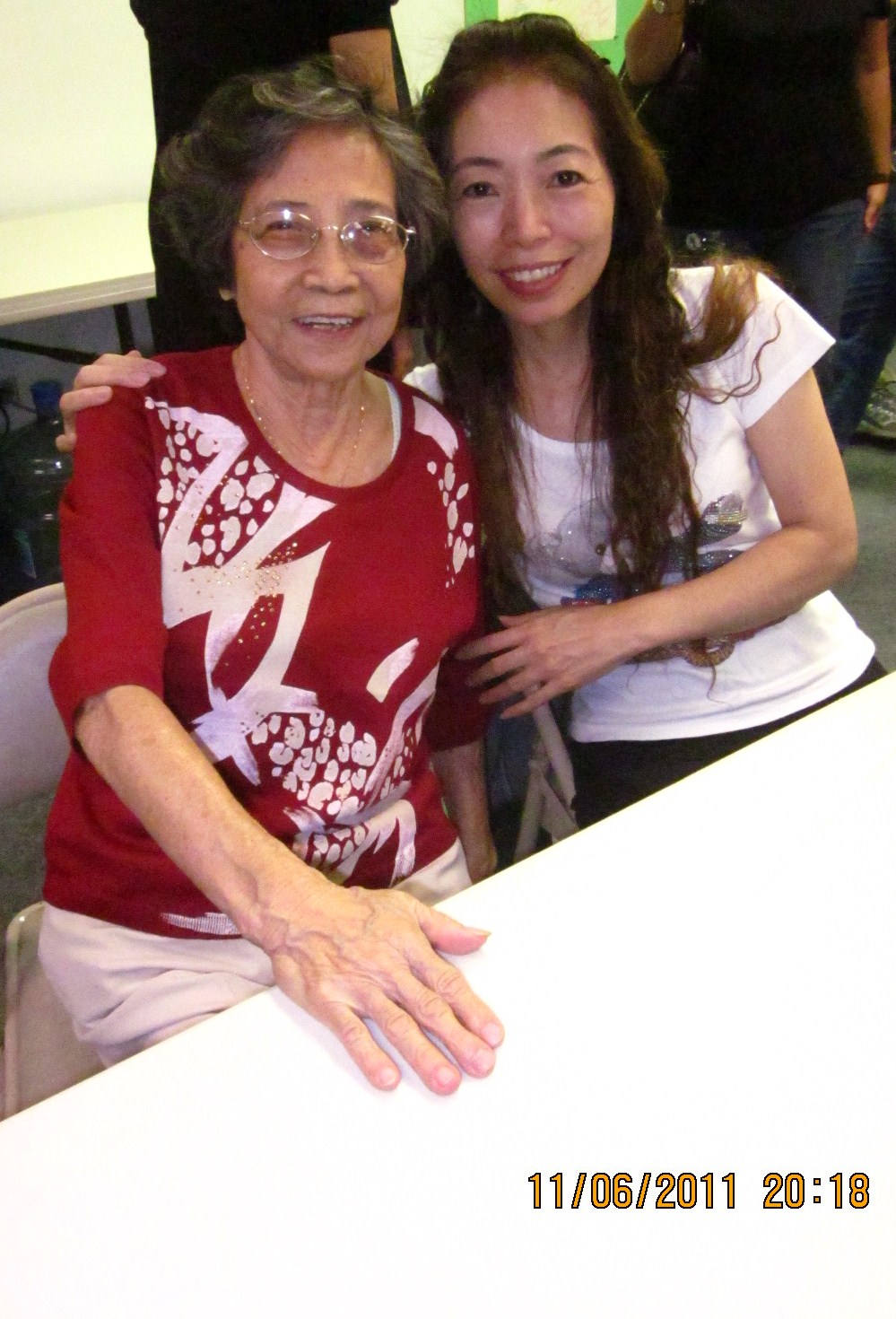Hong mama and Mei Hong (Mei Li's youngest sister)