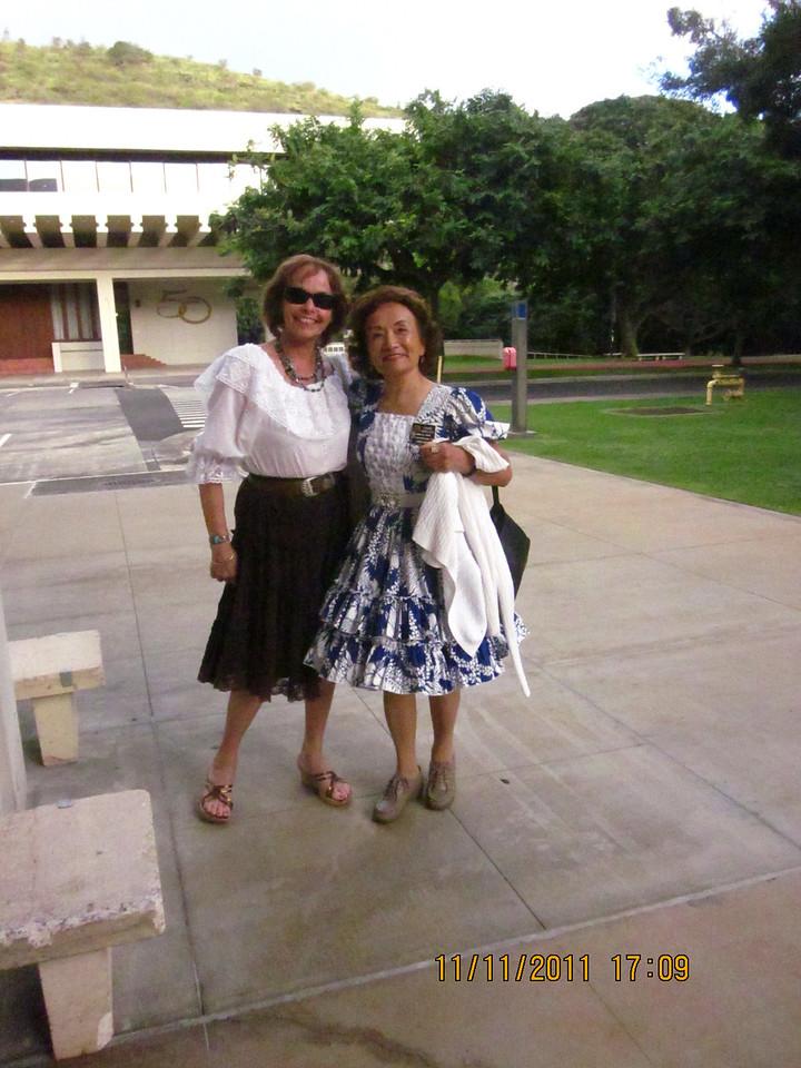 Linda and her friend Josephine