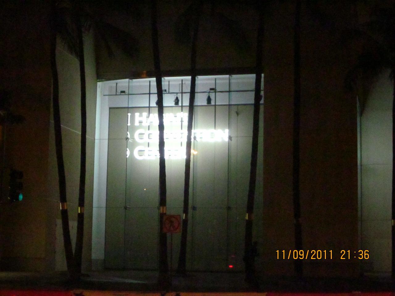 Hawaii Convention Center where APEC took place