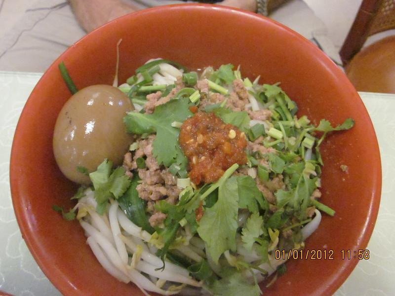 BenBen's minced meat noodles