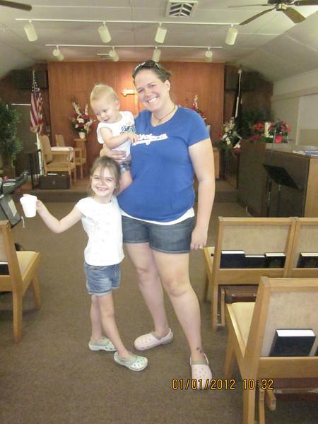 Wellman family... Kiley, Joshua and their mommy Christina