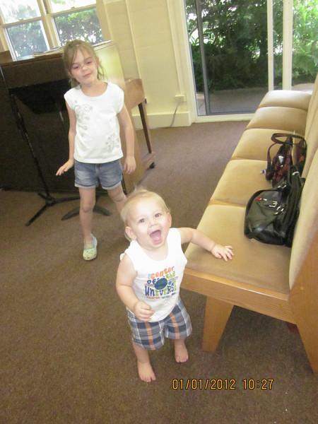Children are our future.. Kiley & Joshua.. no natural on camera..