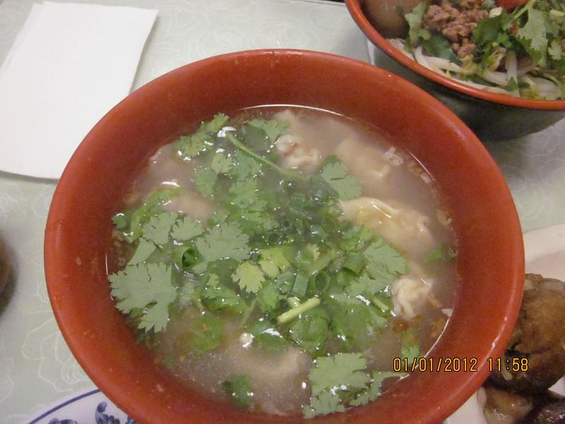won ton soup..