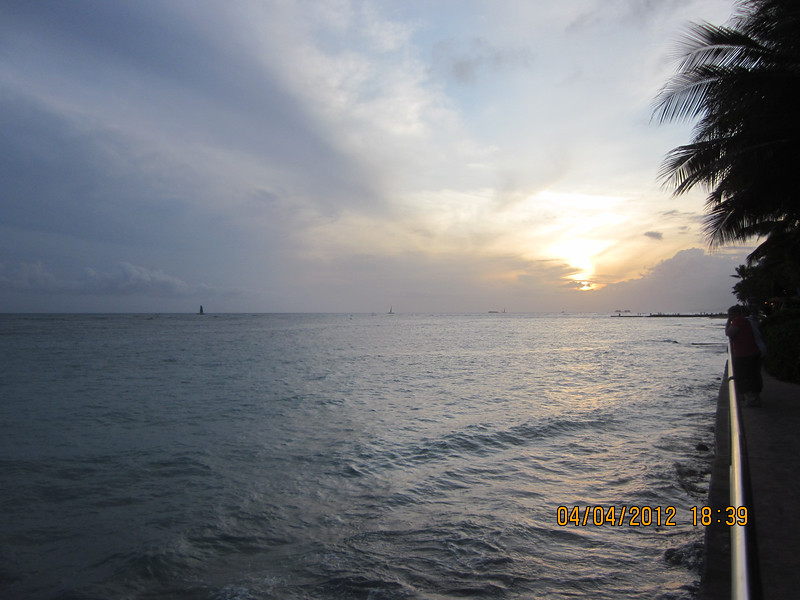 another sunset in Waikiki