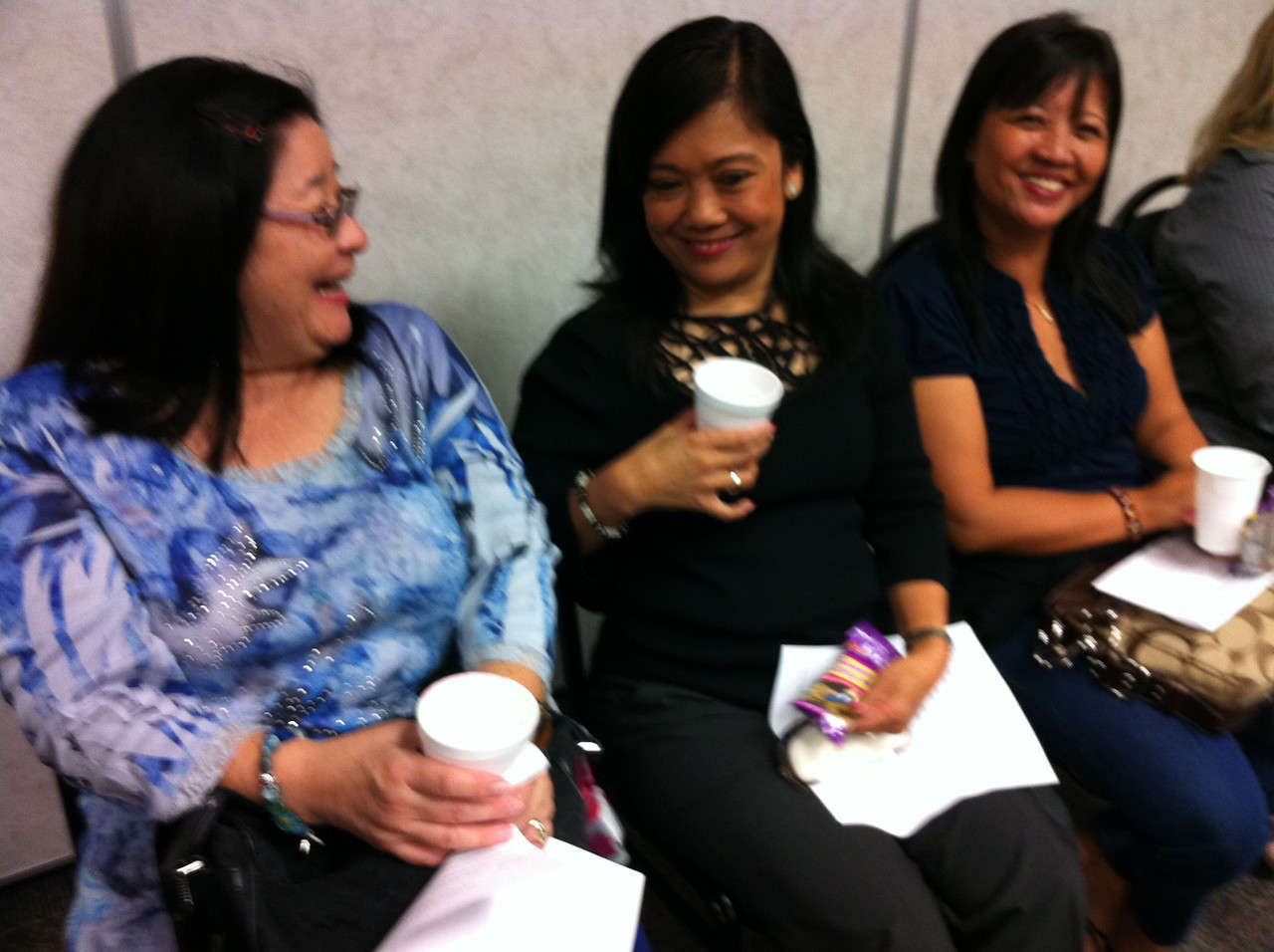 051012 at Homeland Security Seminar, about importance of SARS report.