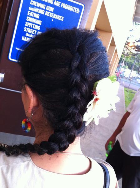 JyaMing did my hair..