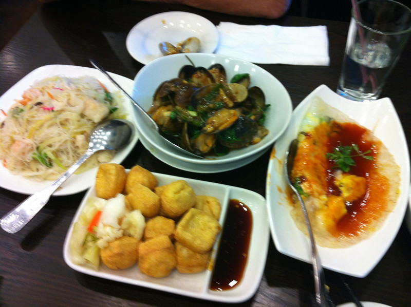 all the Taiwanese dishes.. that clam dish was really good...