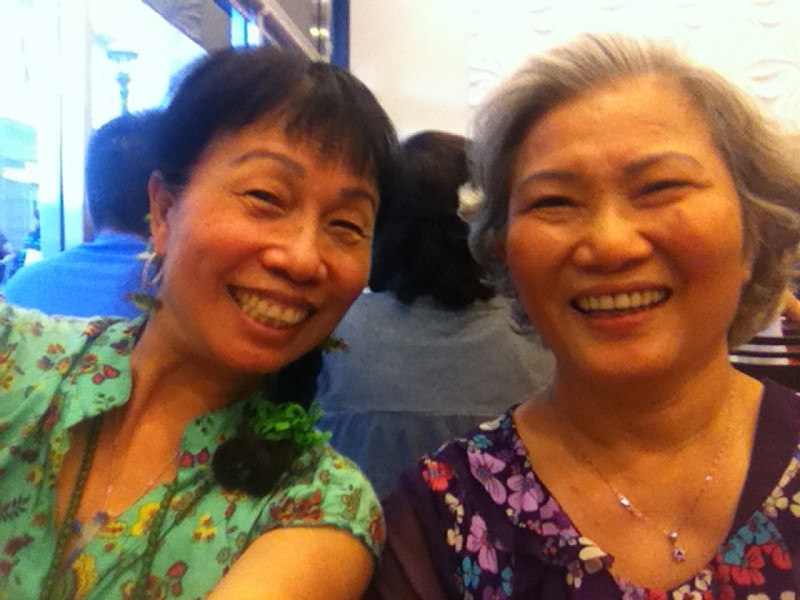 me and Dah Sao...(her FB profile pic)
