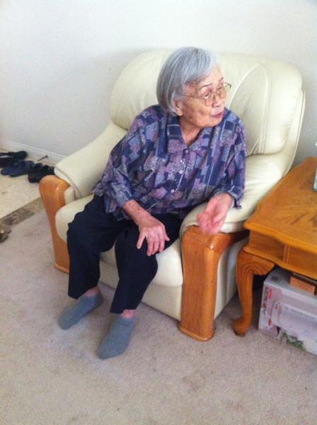 Lu Mama is 92 yrs young..
