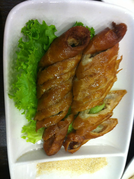 fried large intestine.. yummy as well..