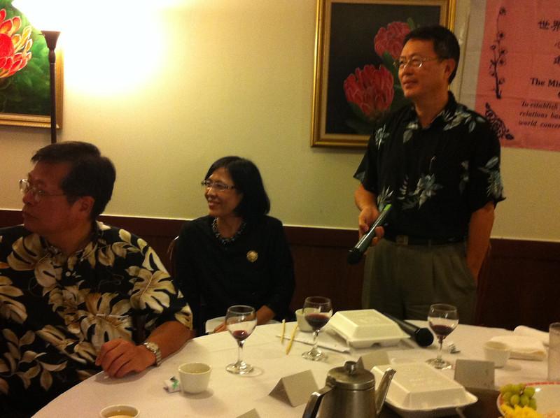 Dr. Yang - Sherry & Mr. Chu