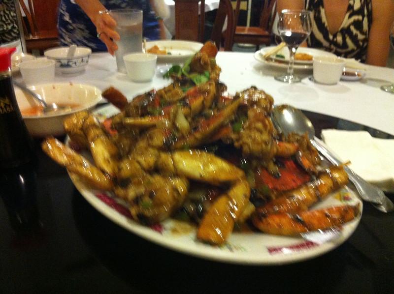 blurry crabs..
