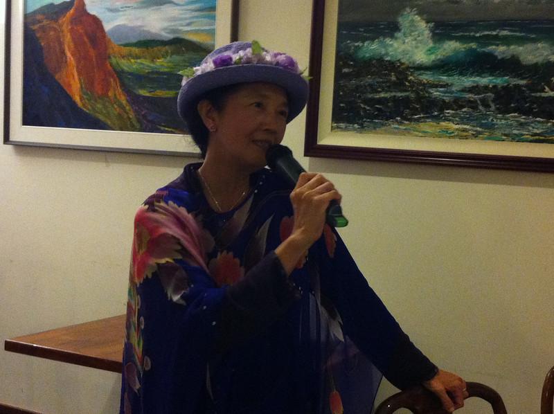 Elizabeth loves singing as well..