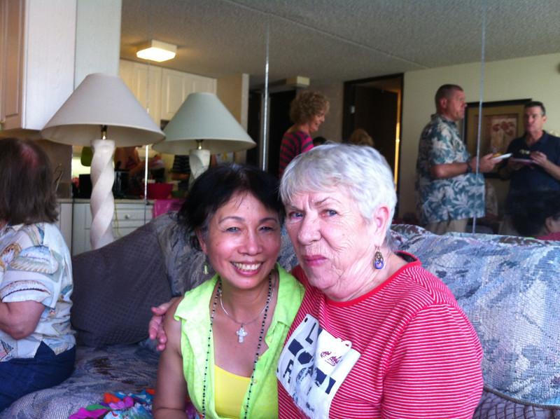 me and Janice