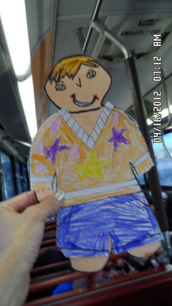 on the early morning bus ride to Hickam AFB..