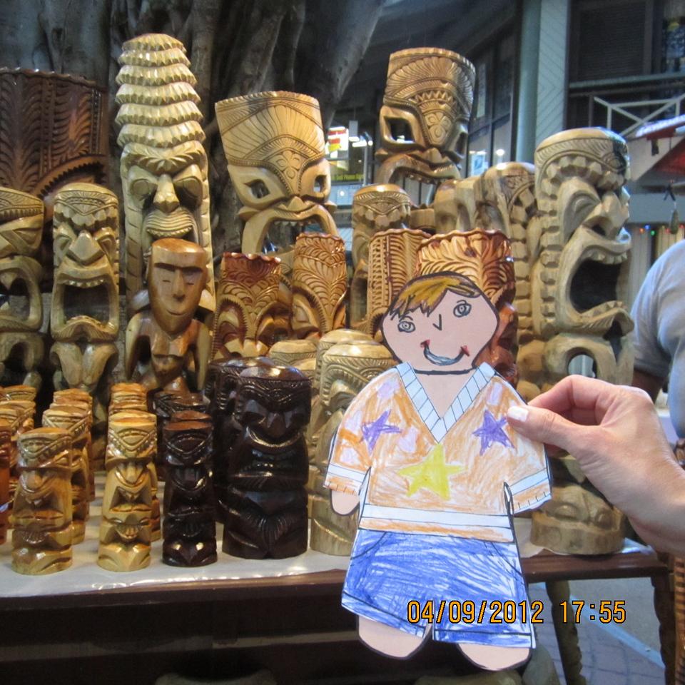 wood shop inside the International Market