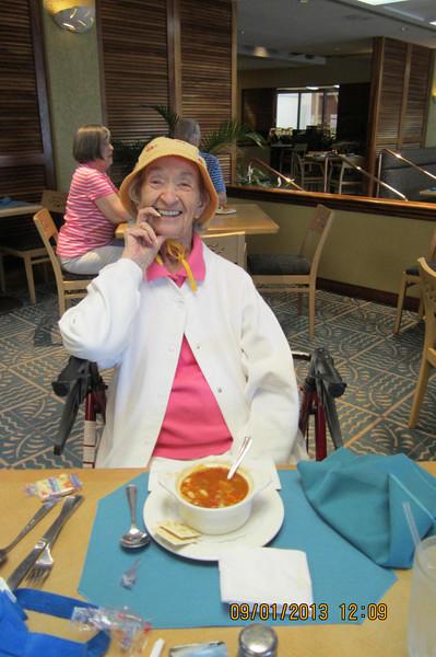 Mrs. Goble at Koko Cafe!