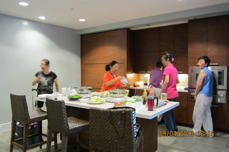 Hot Pot night with GFCBW sisters