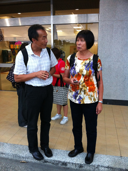 100113 Arrived in TaiTung, met Dr. Lee who is also a lecturer at this special 3Q training program.
