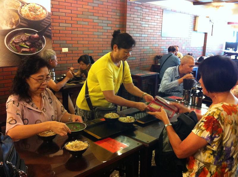 lunch time for us.. Hui Zhen - Yun Chin - #2 sister