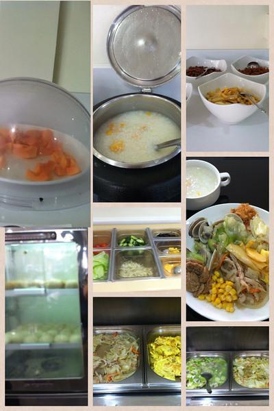 100213 breakfast at Sinsu Fashion Hotel..really good!