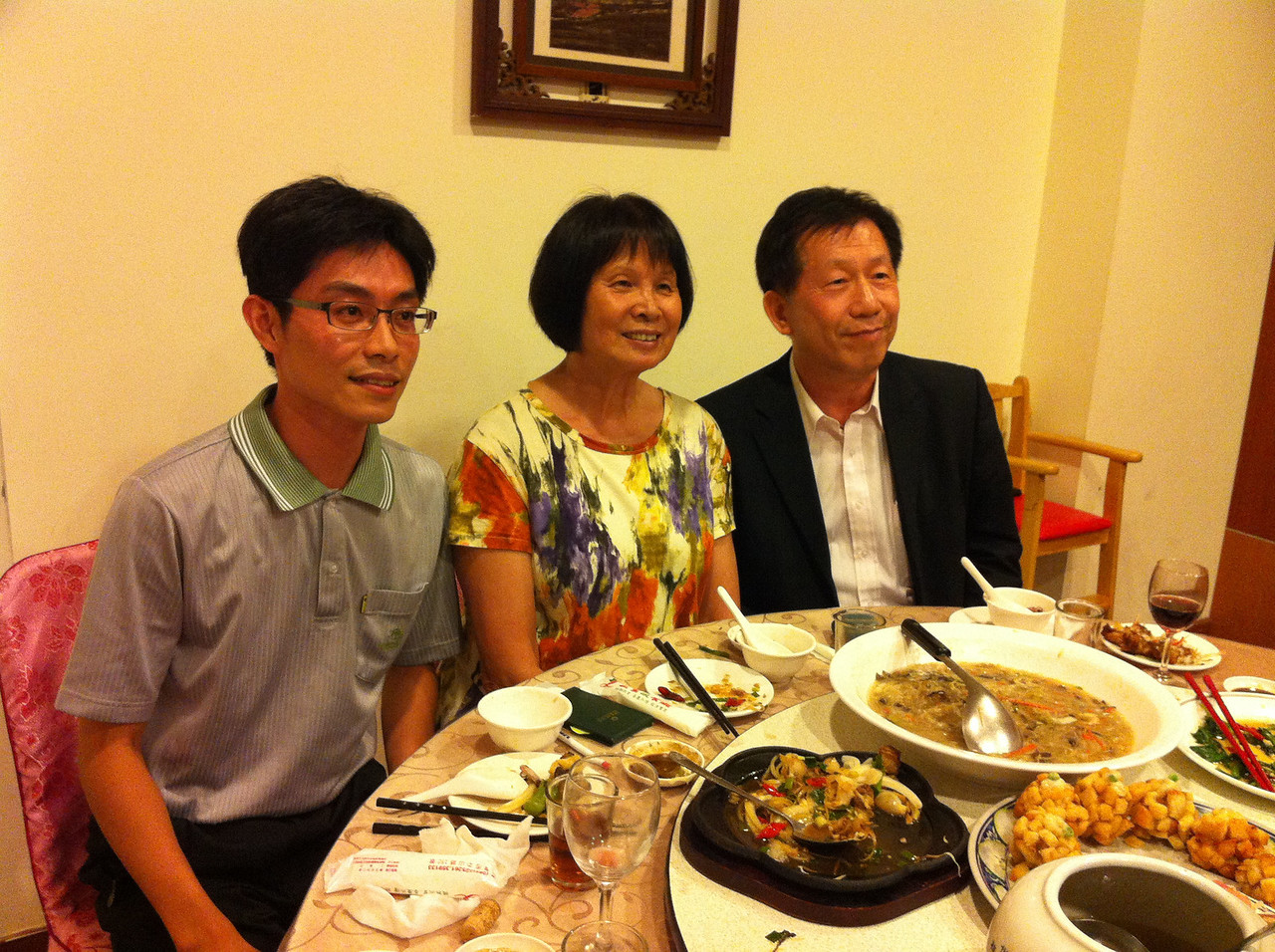 this young man from TaiTung DOE with Chi, and Mr. Tsai