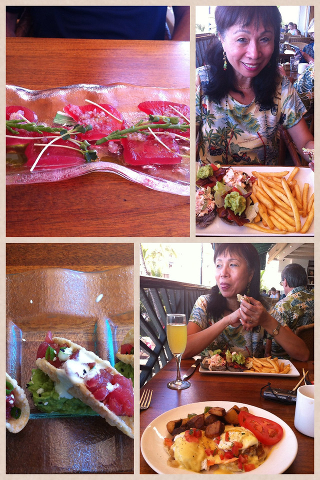 120813 at Hula Girl Grill for lunch