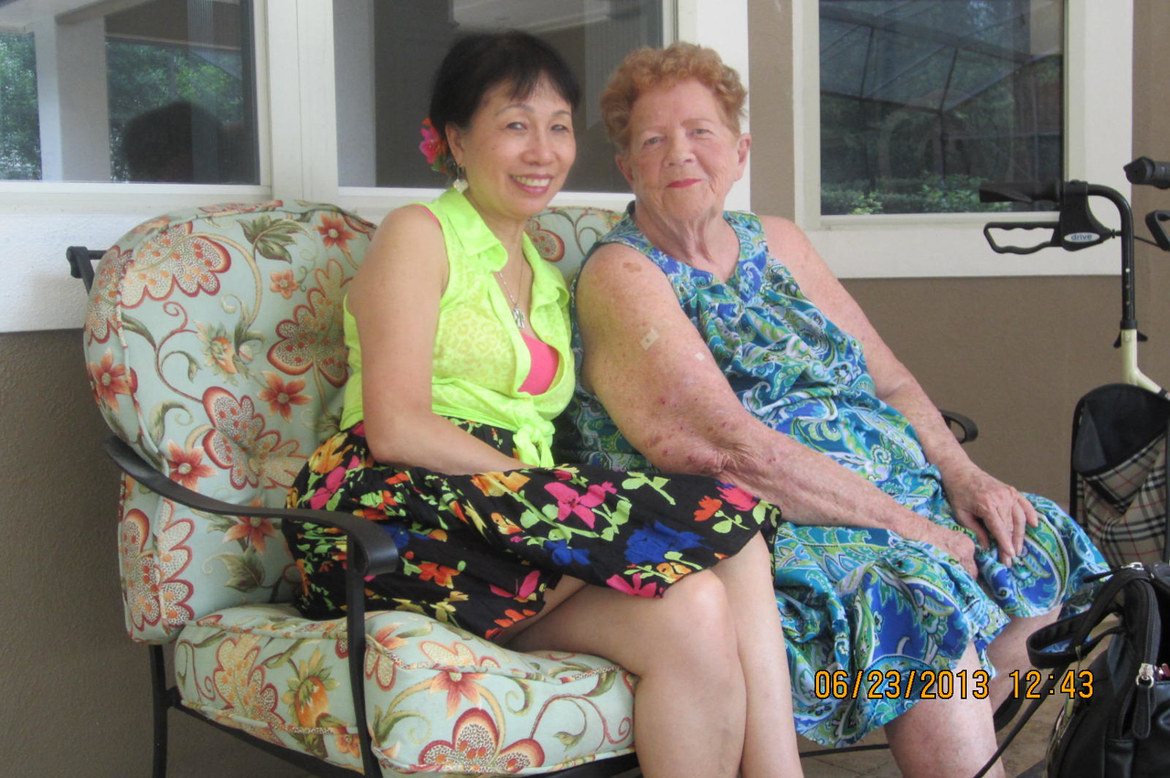 me and Mama Rusin