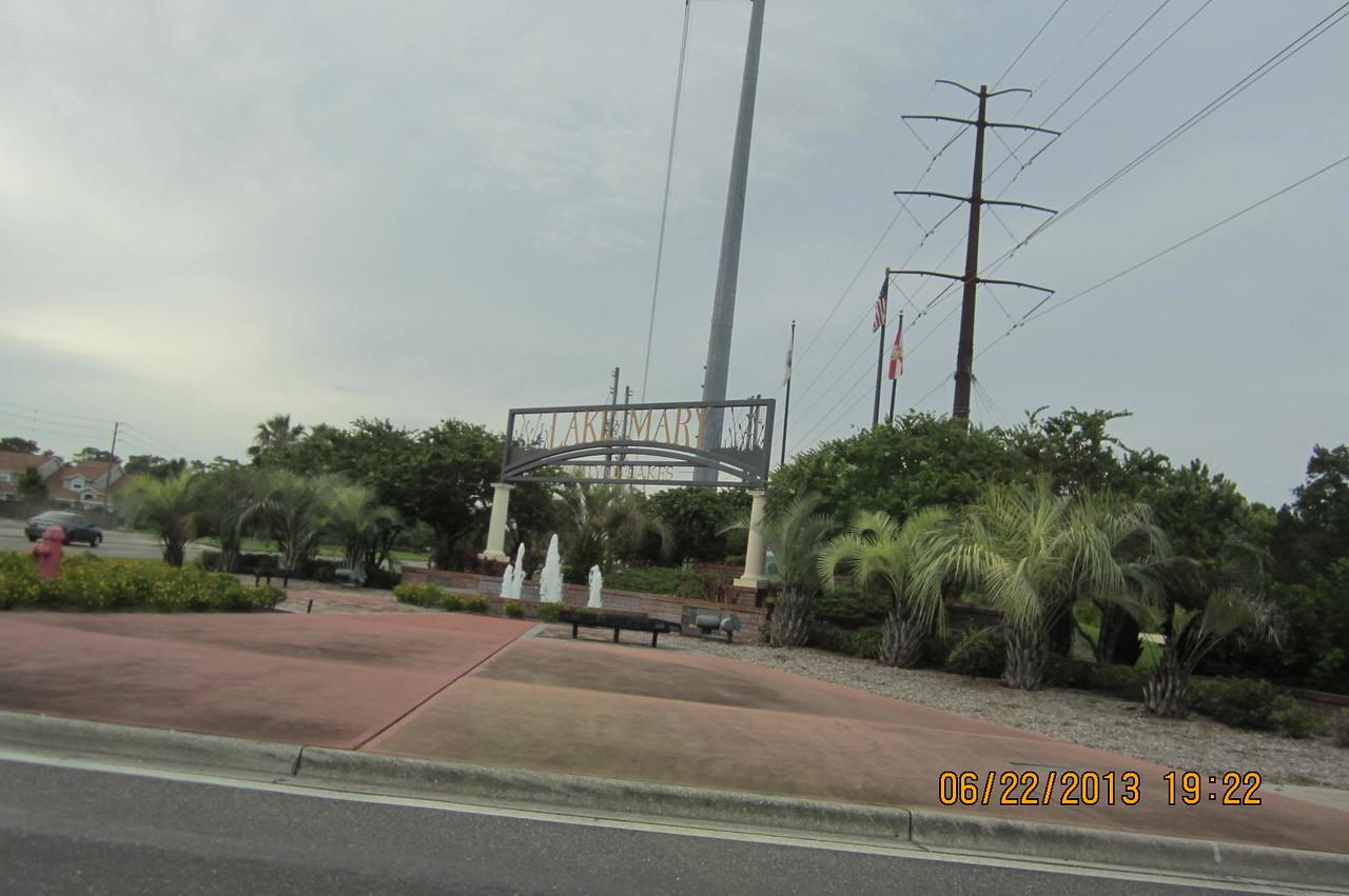 Lake Mary sign