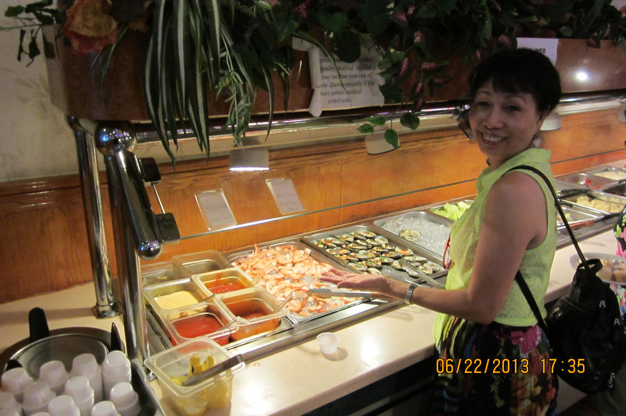 wow... seafood...