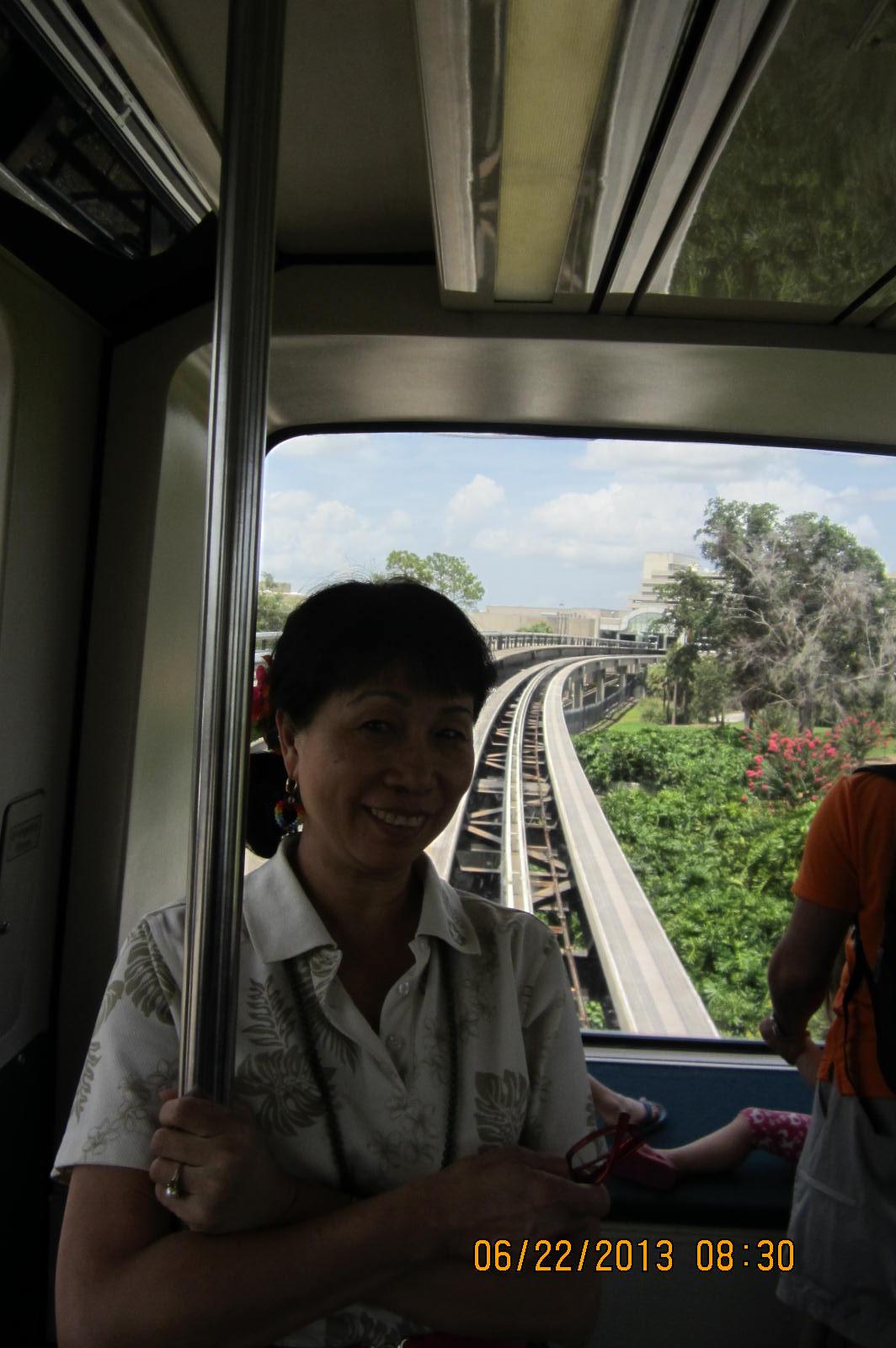 in Orlando.. Monorail