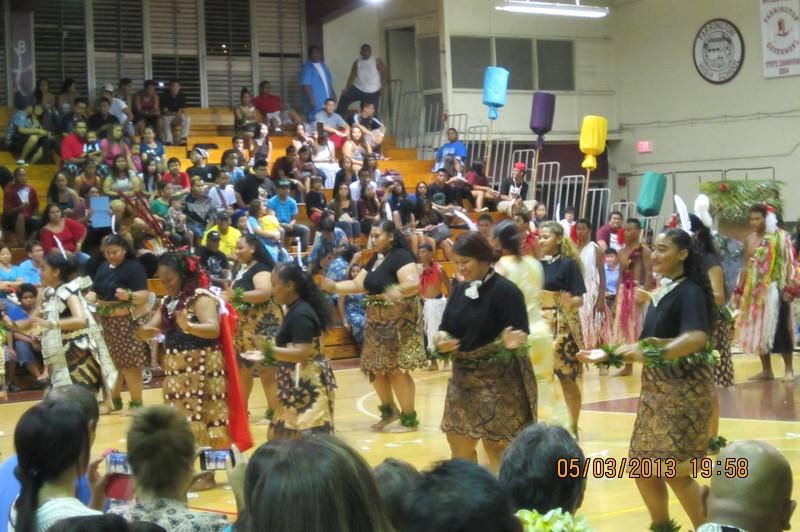 Tonga performers