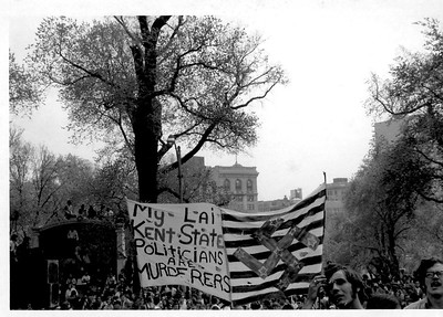 VIETNAM RALLY ON THE COMMON BOSTON 10/15/1969
