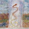 Rainbow Serpent Backdrop Sketch
