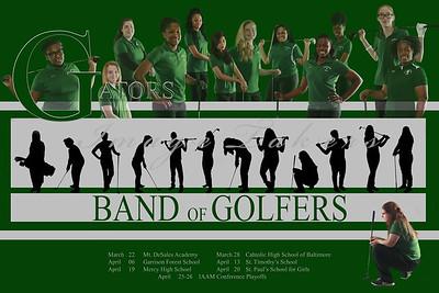 2016 Golf Poster