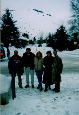 1999 Sun Valley- Duane, Jerry, April, Cecelia & Hank