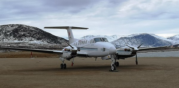 A Keewatin King Air 200 (BE20). EIC Photo