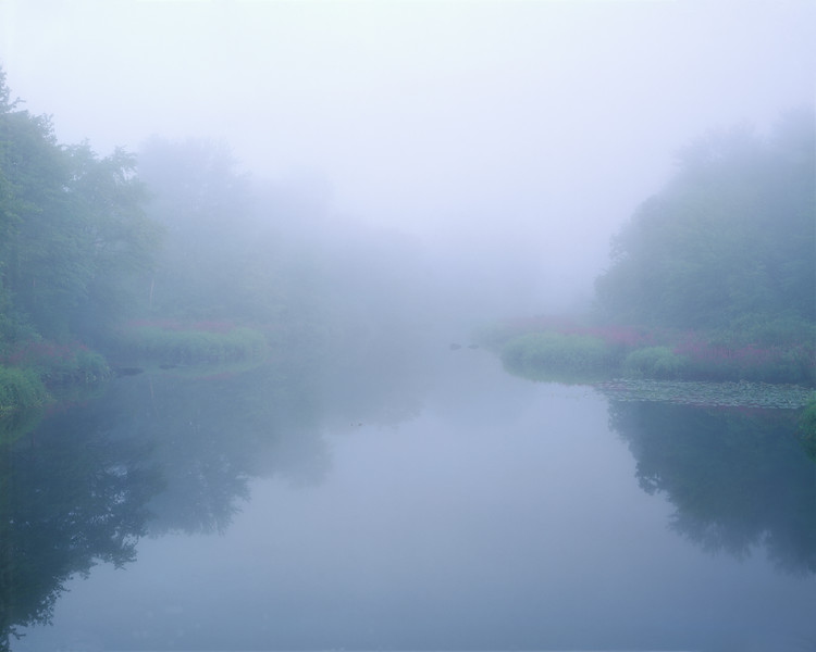 Sudbury River In Fog