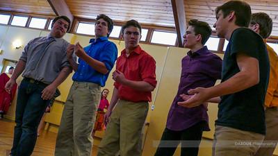 SKIT Footloose Rehearsal
