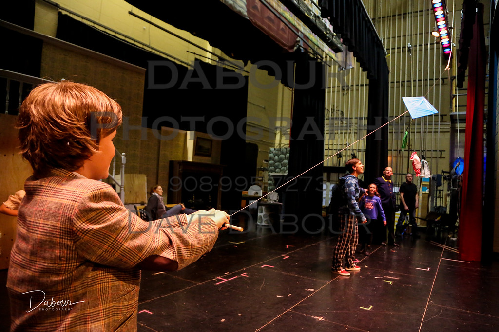Backstage at SKIT's Mary Poppins