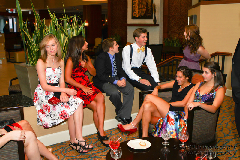 SKIT members gather before the Perry Awards reception
