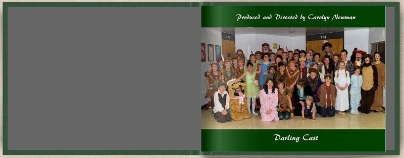 Peter pan, photo album