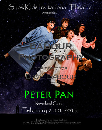 Peter Pan (Neverland Cast) takes the kids flying!